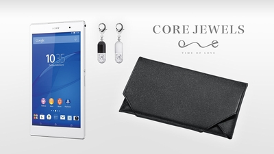 Xperia Z3 Tablet Compact × CORE JEWELS