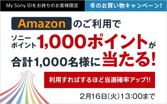 My Sony 冬のお買い物キャンペーン!