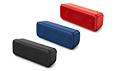 重低音EXTRA BASSシリーズの<br />ワイヤレスポータブルスピーカー2機種を発売