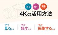 4Kの活用方法