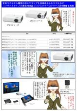 ソニー業務用液晶プロジェクター 新製品を発売