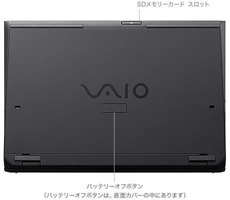 VAIO Pro 11 底面