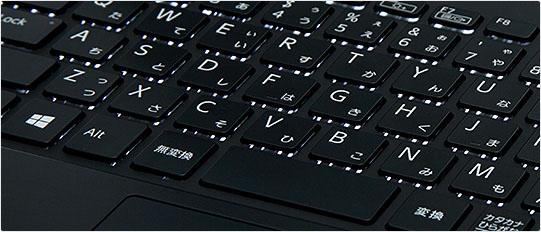VAIO S13 バックライトキーボード
