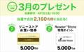 My Sony ID 特典 3月のプレゼント
