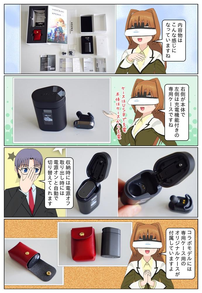 せっかくなので オードアート・オンライン × Xperia Ear コラボモデルをVAIO Phone A に入れます。SAOコラボモデルには専用ケース用のオリジナルケースが付属となっています。