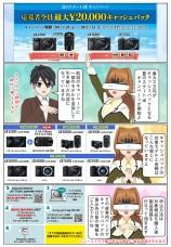 最大2万円のキャッシュバック!『夏のスタートαキャンペーン』