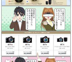 一口最大3万円のキャッシュバック!『αプレミアムキャンペーン』が開始 ページ1