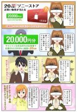 抽選でソニーストアお買い物券2万円分が当たる!7月のプレゼントキャンペーン