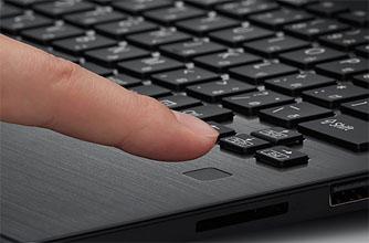 VAIO S11 / S13の指紋認証