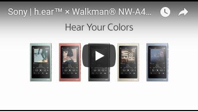 ウォークマン A40シリーズの動画
