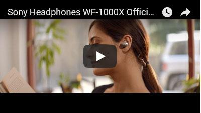 WF-1000Xの動画