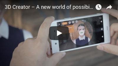 Xperia  3Dクリエイターの動画