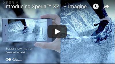 Xperia XZ1 の動画