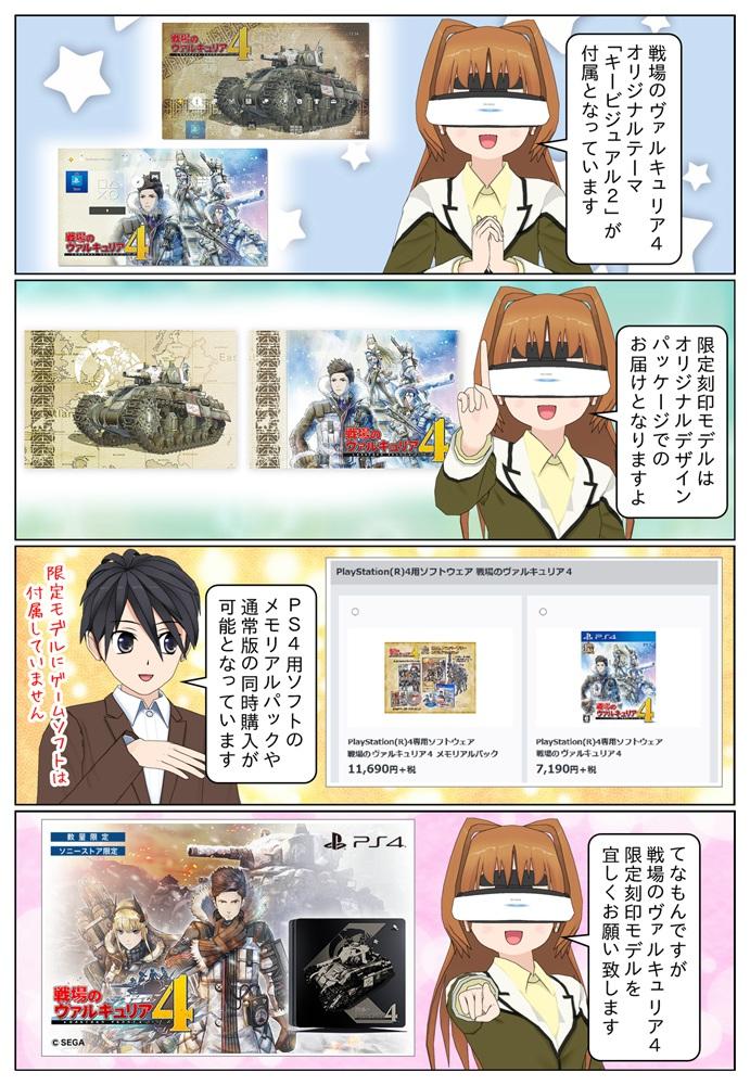 """PlayStation 4 のトップパネル部に主人公・クロードが所属する部隊の戦車""""ハーフェン号""""を刻印。オリジナルテーマやオリジナルパッケージ付きです。"""