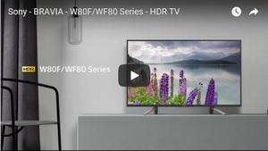 BRAVIA W80F 動画