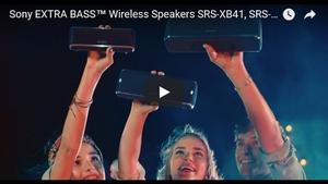 SRS-XB41/31/21 動画
