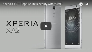 Xperia XA2 動画