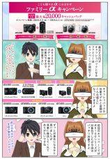 最大2万円のキャッシュバック!『ファミリーαキャンペーン』が開催