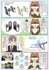 ソニーから新しいリスニングスタイルの Xperia Ear Duo (XEA20) が発売