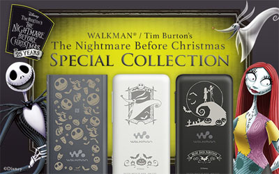 WALKMAN / Tim Burton's The Nightmare Before Christmas Special Collection