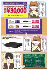 ソニーの4Kチューナー DST-SHV1を購入で最大3万円のキャッシュバック