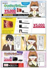 ソニーのサウンドバー 5,000円キャッシュバックキャンペーンが開催