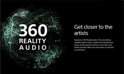 ソニー「360 Reality Audio」