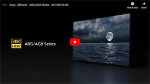 4K有機ELテレビ A8Gシリーズ 動画