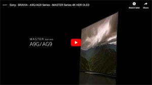 4K有機ELテレビ A9Gシリーズ 動画