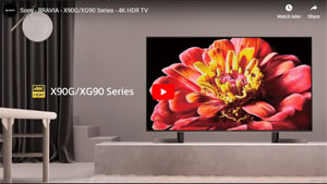 4K液晶テレビ X90G/XG90シリーズ 動画