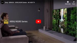 4K液晶テレビ X95G/XG95シリーズ 動画