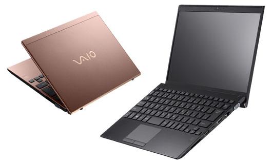VAIO SX12 デザイン