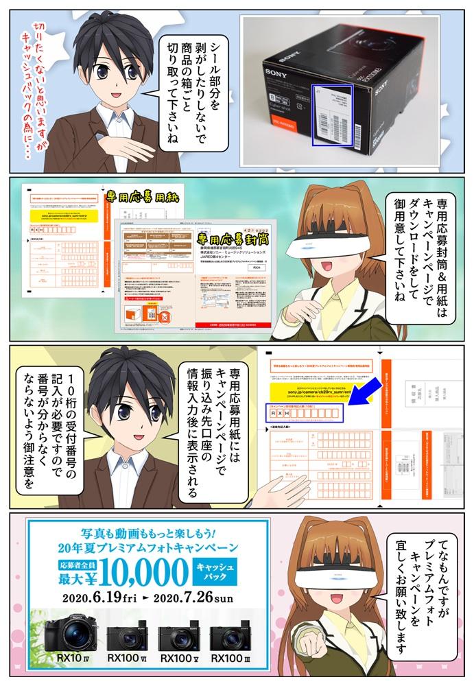 サイバーショット DSC-RX100M5A、DSC-RX100M3を購入で5,000円のキャッシュバック