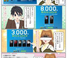 ソニーのウォークマン ZX500シリーズ を購入&応募で8,000円のキャッシュバック