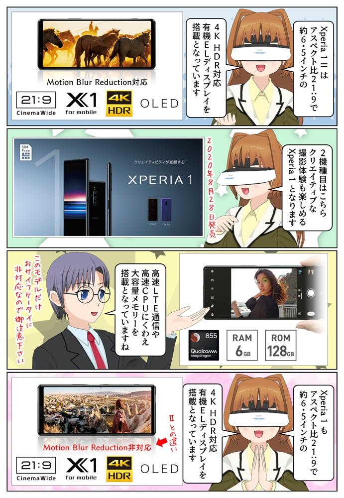 Xperia 1『J9110』SIMフリーモデルがソニーストアにて販売開始。デュアルSIMに対応