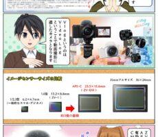 ソニーの レンズ交換式 Vlogカメラ『VLOGCAM ZV-E10』の特徴や違い