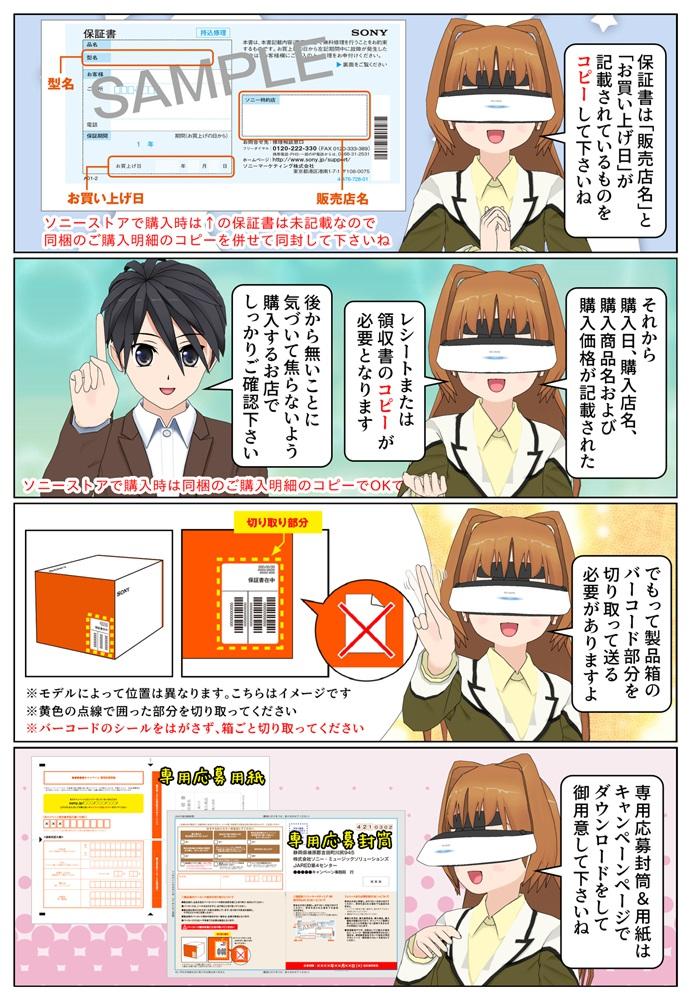 ソニー ZV-E10シリーズ 発売記念キャンペンの応募方法