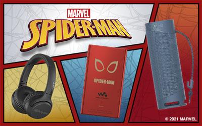 ソニー ポータブルオーディオ / Spider-Man Collection
